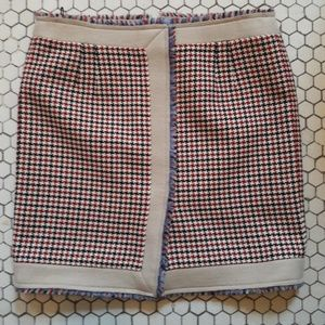 Balenciaga Houndstooth Mini-skirt